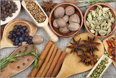 Adesivo murale  Spices in the kitchen - Thomas Klee