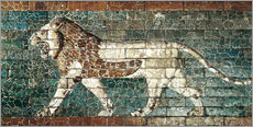 Adesivo murale  Lion mosaic at the temple of Babylon