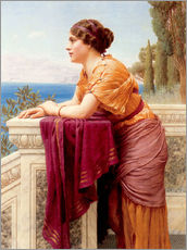 Adesivo murale  The Belvedere - John William Godward