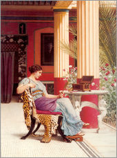 Adesivo murale  The Jewel Casket - John William Godward