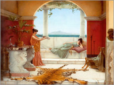 Adesivo murale  The Sweet Siesta Of A Summer Day - John William Godward
