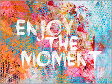 Adesivo murale Enjoy the moment