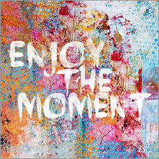 Adesivo murale Enjoy the moment II