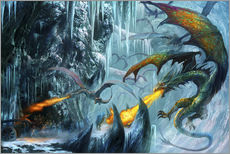 Adesivo murale  The cave - Dragon Chronicles