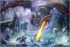 Adesivo murale  Dragon attack - Dragon Chronicles