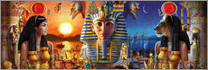 Adesivo murale  Egyptian Triptych 2 - Andrew Farley