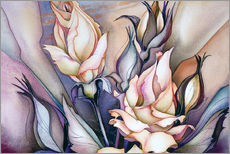 Stampa su plexi-alluminio  Whatsoever is beautiful - Jody Bergsma