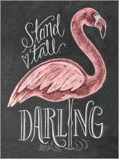 Adesivo murale  Stand Tall, Darling - Lily & Val