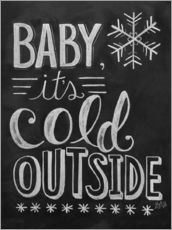 Adesivo murale  Baby, It's Cold Outside - Lily & Val