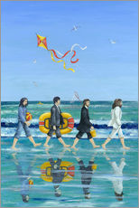 Adesivi murali  Abbey Road Beach - Peter Adderley