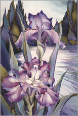 Adesivo murale  Lady of the lake - Jody Bergsma