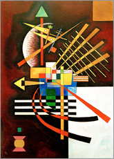 Adesivi murali  Top and Left - Wassily Kandinsky