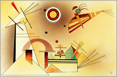 Stampa su plexi-alluminio  Reduced Weight - Wassily Kandinsky