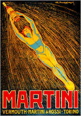 Stampa su plexi-alluminio  Martini Vermouth Martini & Rossi Torino - Advertising Collection