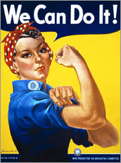 Adesivo murale  We can do it! - Advertising Collection
