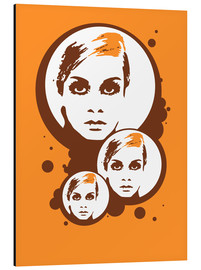 Alluminio Dibond  Twiggy Mathmos Orange - JASMIN!