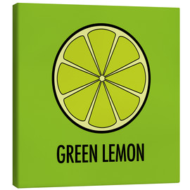 Stampa su tela  Green Lemon Juice - JASMIN!