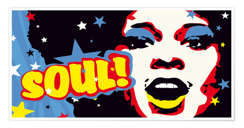 Poster Premium Soul! for the funky world