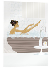 Vetro acrilico  shower flower babe - Mike Wall