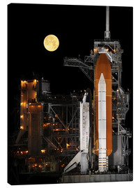 Stampa su tela  Space shuttle Discovery