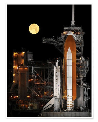 Poster Premium Space Shuttle Discovery