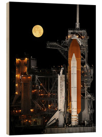 Stampa su legno  Space shuttle Discovery - Stocktrek Images