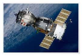 Poster Premium The Soyuz TMA-7 spacecraft