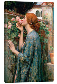Tela  Anima della rosa - John William Waterhouse