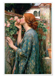 Poster Premium  Lo spirito della rosa - John William Waterhouse