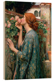 Legno  Anima della rosa - John William Waterhouse