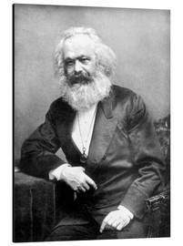 Alluminio Dibond  Karl Marx - English Photographer