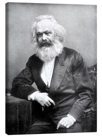 Tela  Karl Marx - English Photographer