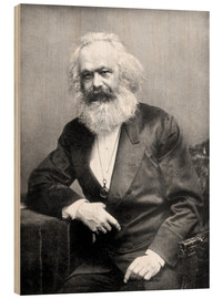 Legno  Karl Marx - English Photographer
