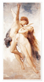 Poster Premium Cupid and Psyche
