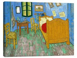 Stampa su tela  Van Gogh's Bedroom at Arles - Vincent van Gogh