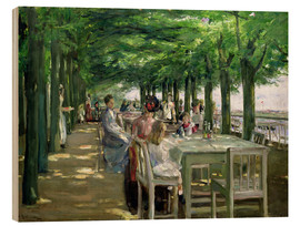 Legno  The Terrace at Jacob's Restaurant in Nienstedten-an-der-Elbe - Max Liebermann