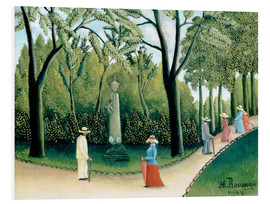 Stampa su PVC  The Monument to Chopin in the Luxembourg Gardens - Henri Rousseau