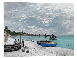 Schiuma dura  The Beach at Sainte-Adresse - Claude Monet