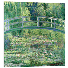 Forex  White Waterlilies - Claude Monet