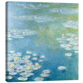 Stampa su tela  Nympheas at Giverny - Claude Monet