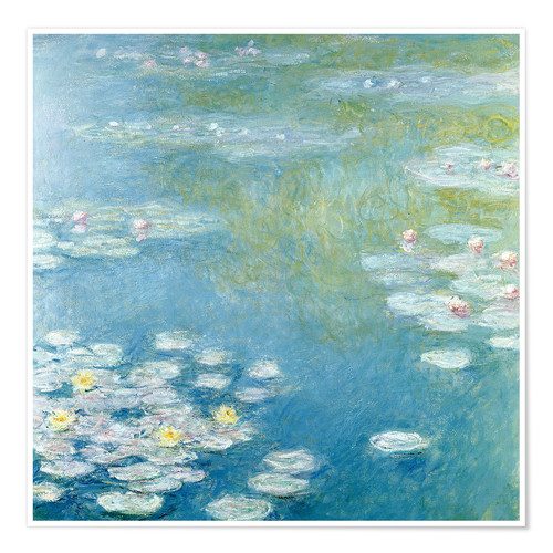 Poster Premium Ninfee a Giverny