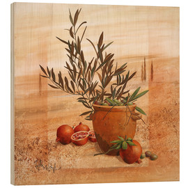 Legno  Pomegranate and olive harvest - Franz Heigl