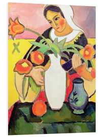 Forex  The Lute Player - August Macke