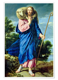 Poster  The Good Shepherd - Philippe de Champaigne