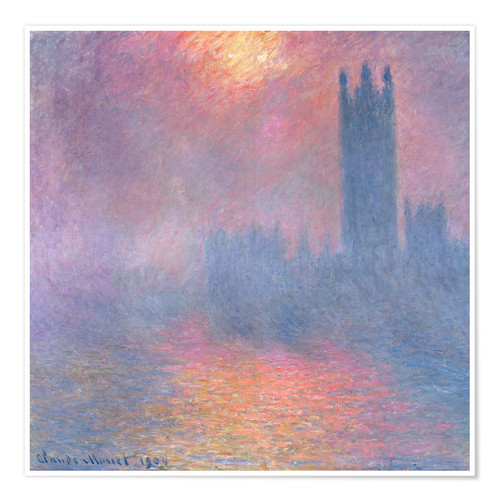Poster Premium The Houses of Parliament