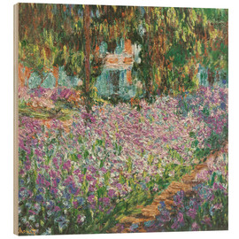 Legno  The Artist's Garden at Giverny - Claude Monet