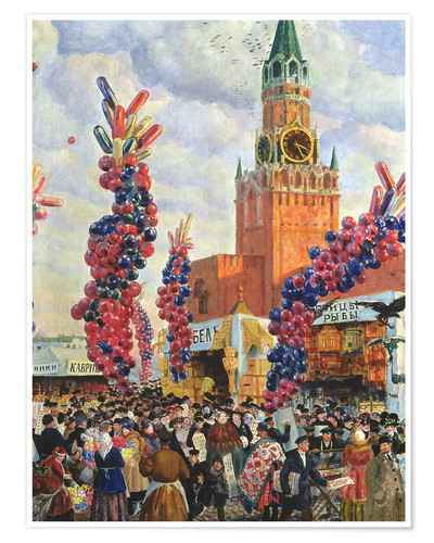 Poster Premium Easter Market at the Moscow Kremlin