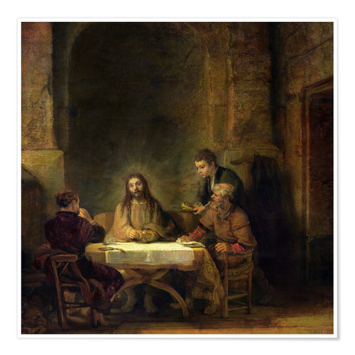 Poster Premium The Supper at Emmaus