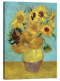 Tela  Sunflowers - Vincent van Gogh