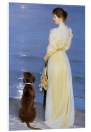Peder Severin Kroyer - Summer Evening at Skagen